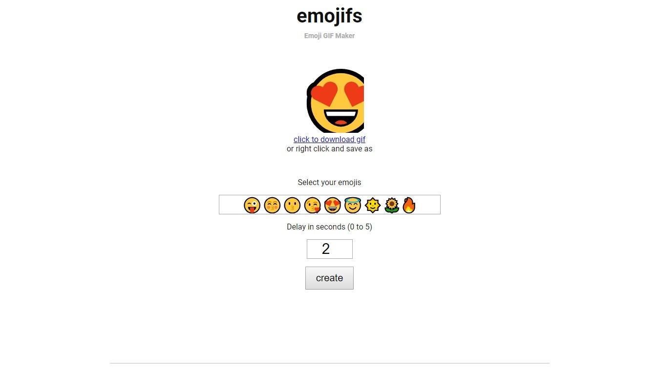 Emojifs - Imagem 1 do software