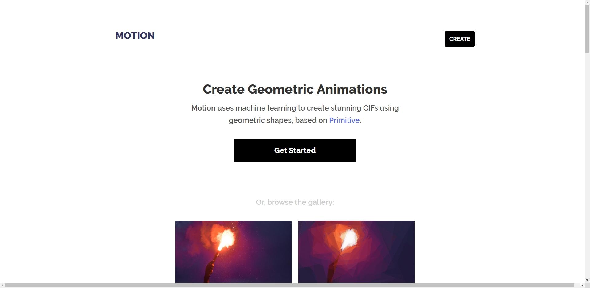 Motion - Imagem 1 do software