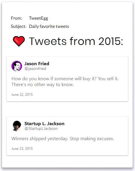 TweetEgg - Imagem 1 do software