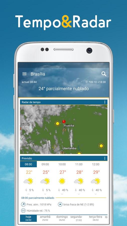 Tempo & Radar - Imagem 1 do software