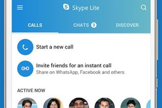 Skype Lite - Free Video Call & Chat Download para Android Grátis