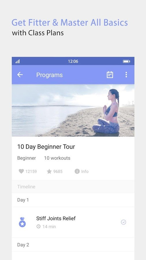 Daily Yoga - Imagem 2 do software