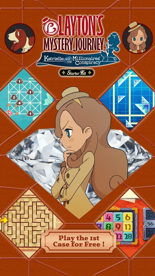LAYTON'S MYSTERY JOURNEY - Imagem 1 do software