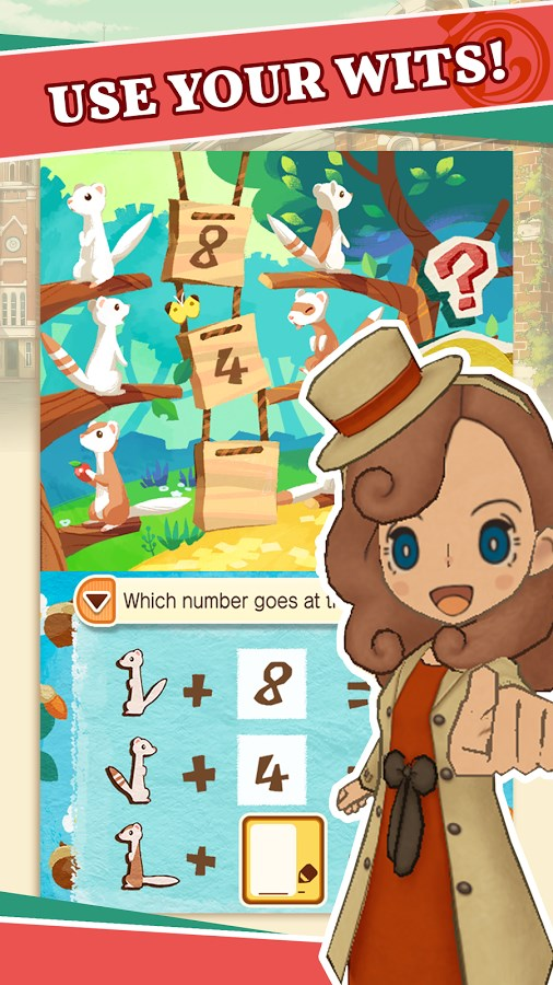 LAYTON'S MYSTERY JOURNEY - Imagem 2 do software