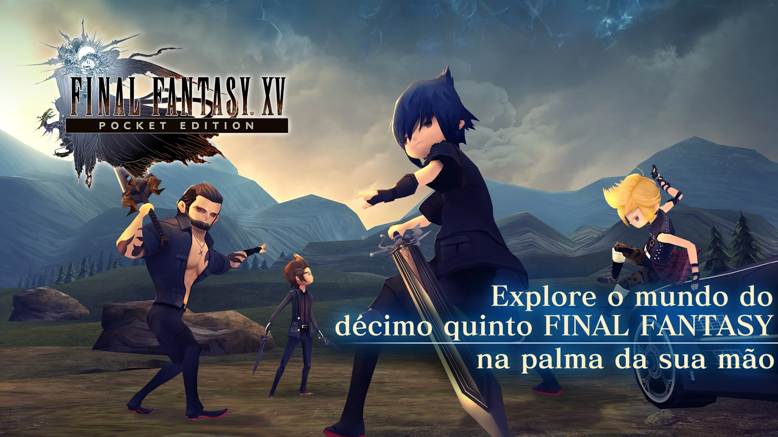 FINAL FANTASY XV POCKET EDITION - Imagem 1 do software