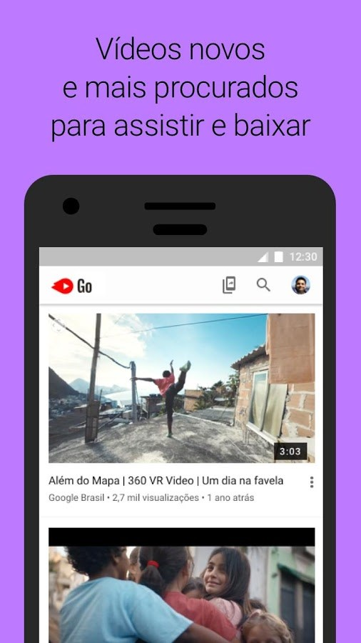 YouTube Go - Imagem 1 do software