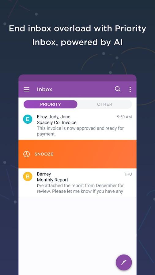 Astro Mail - Intelligent Email & Calendar - Imagem 1 do software