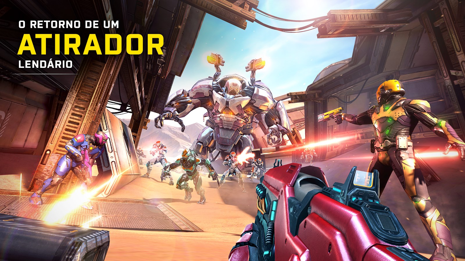 Shadowgun Legends - Imagem 1 do software