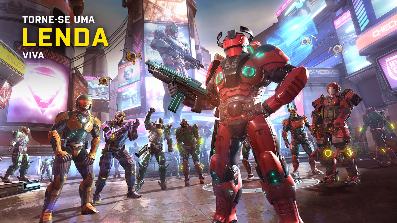 Shadowgun Legends - Imagem 2 do software
