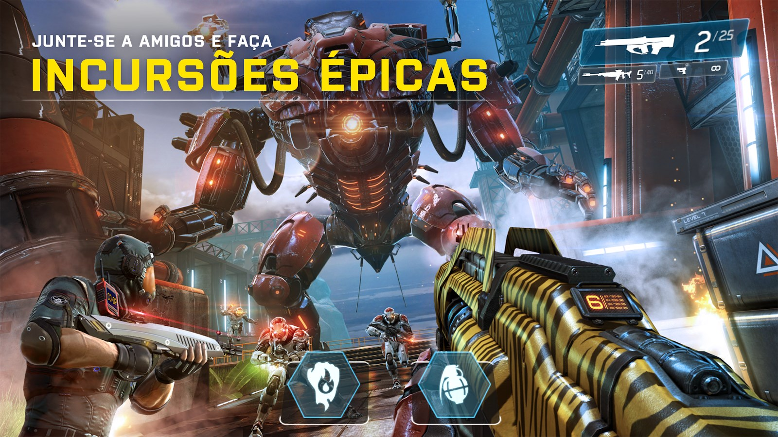 Shadowgun Legends - Imagem 3 do software
