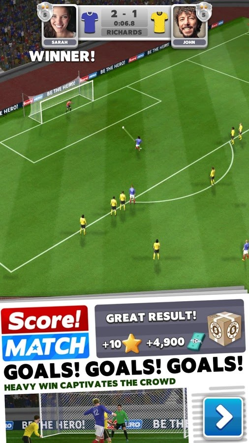 Score! Match - Imagem 1 do software