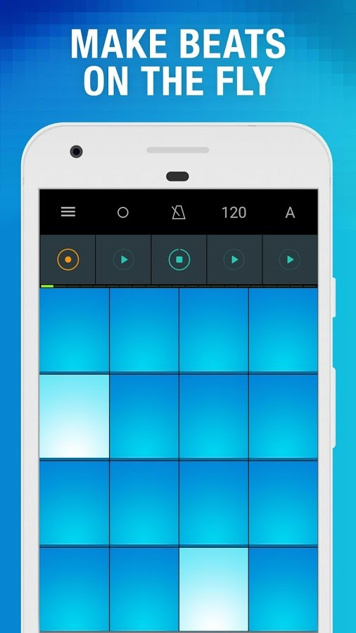 Drum Pads - Beat Maker Go - Imagem 1 do software