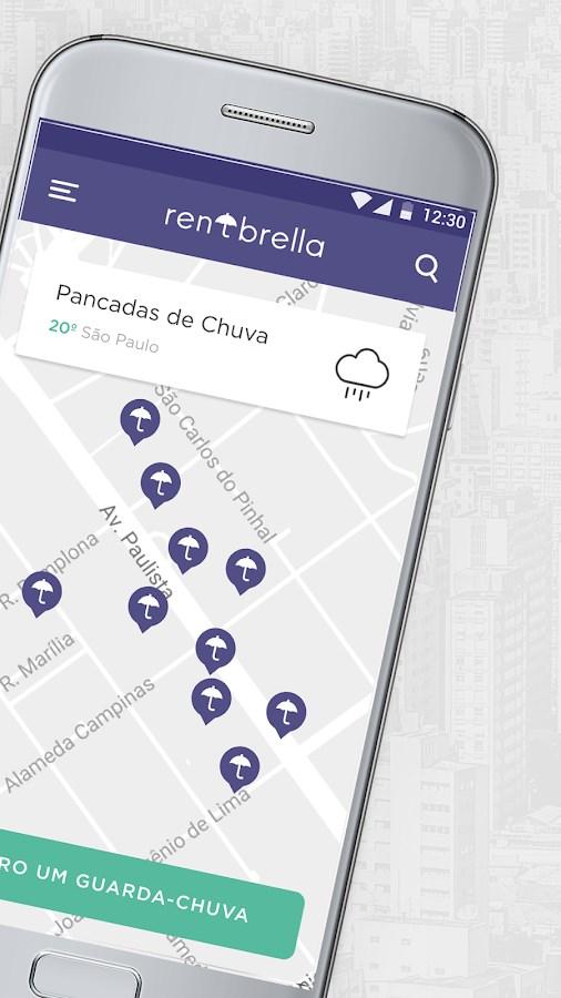 Rentbrella - Imagem 2 do software