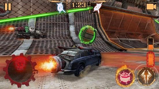 Bola de Foguete - Rocket Car Ball - Imagem 1 do software