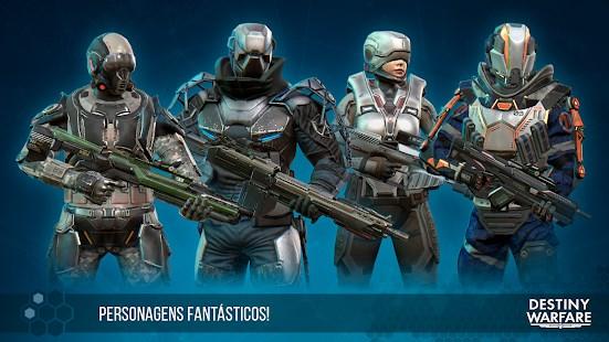 Destiny Warfare: FPS do futuro - Imagem 1 do software