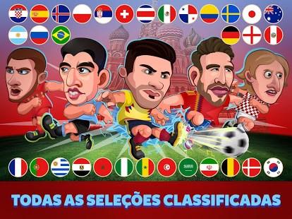 Head Soccer 2018 Copa Rússia: Mundial de Futebol - Imagem 1 do software