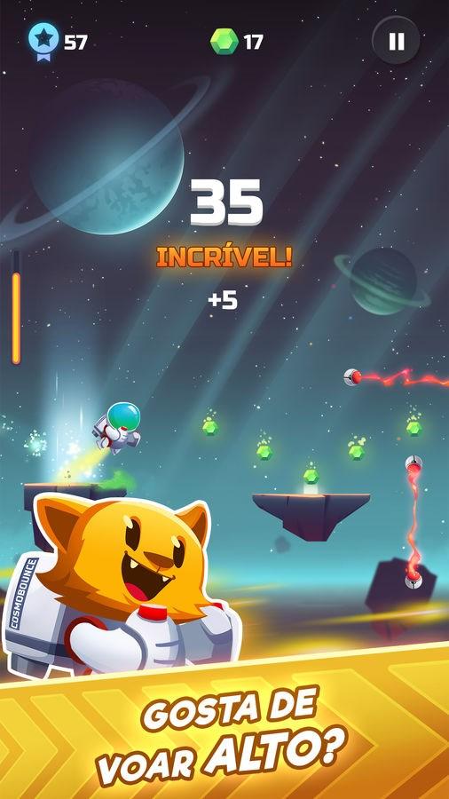 Cosmo Bounce - Uma Louca Corrida Espacial! - Imagem 1 do software