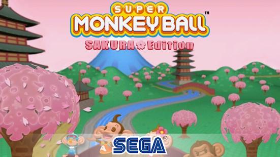 Super Monkey Ball: Sakura Edition - Imagem 1 do software