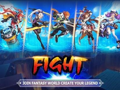 Blade & Wings: Fantasy 3D Anime MMO Action RPG - Imagem 1 do software