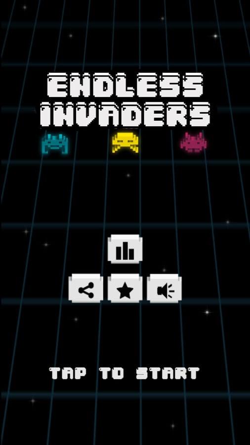 ENDLESS INVADERS - Imagem 1 do software