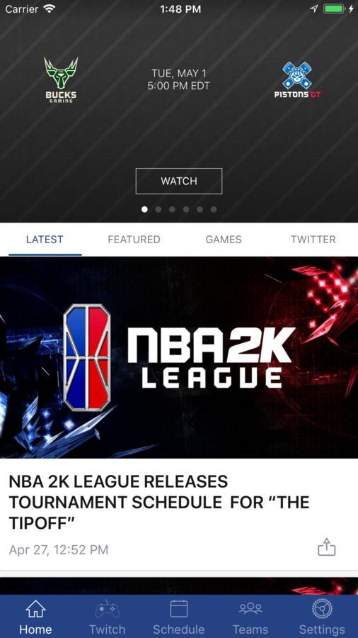 NBA 2K League - Imagem 1 do software