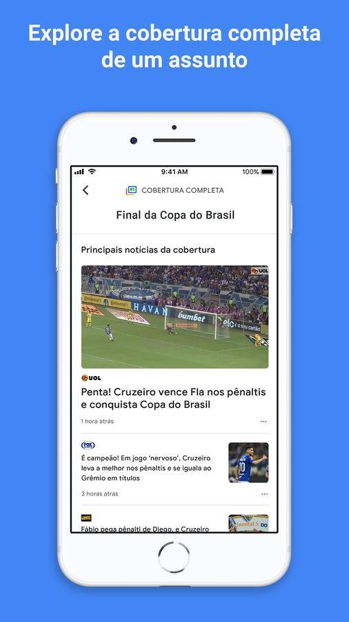 Google Notícias - Imagem 2 do software