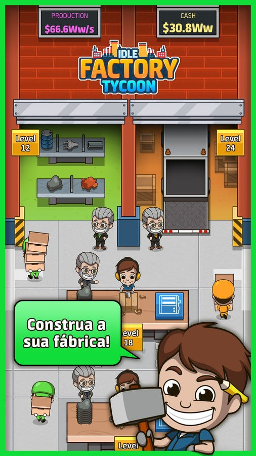Idle Factory Tycoon - Imagem 1 do software