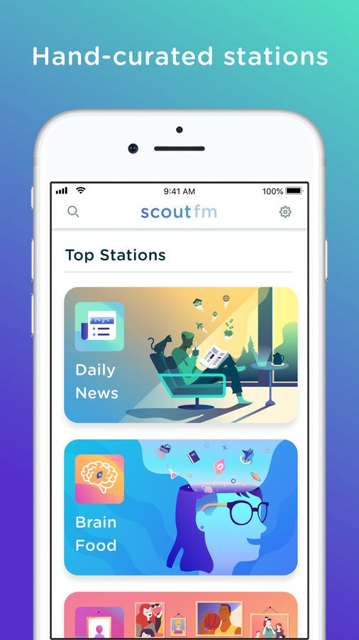 Scout FM — podcasts & radio - Imagem 1 do software