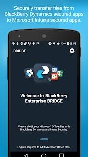 BlackBerry Enterprise BRIDGE - Imagem 1 do software