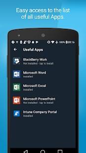 BlackBerry Enterprise BRIDGE - Imagem 2 do software