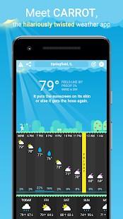 CARROT Weather - Imagem 1 do software