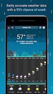 CARROT Weather - Imagem 2 do software