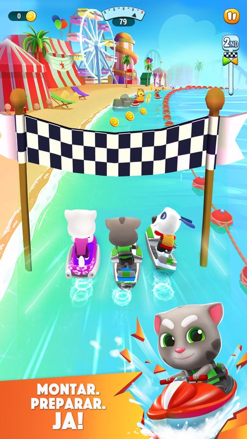 Talking Tom Jetski 2 - Imagem 1 do software