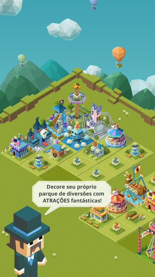 2048 Tycoon: Theme Park Mania - Imagem 2 do software