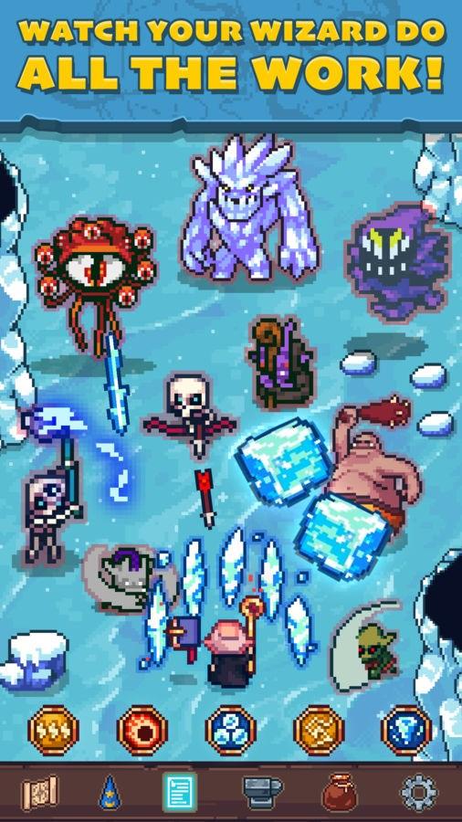 Tap Wizard RPG: Arcane Quest - Imagem 2 do software