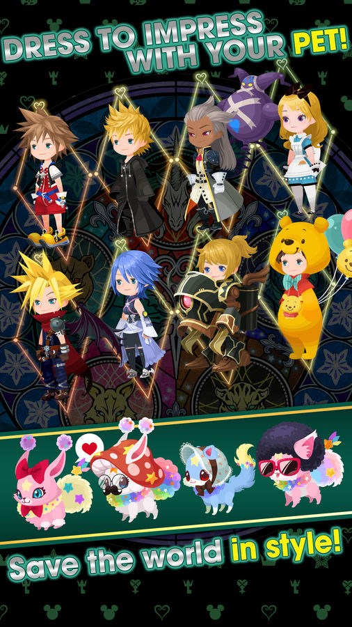 KINGDOM HEARTS Union X [Cross] - Imagem 5 do software