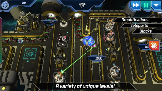 Module TD. Sci-Fi Tower Defense - Imagem 1 do software