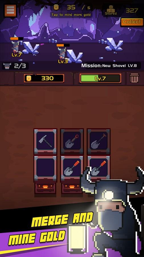 Miner Merge - Imagem 1 do software