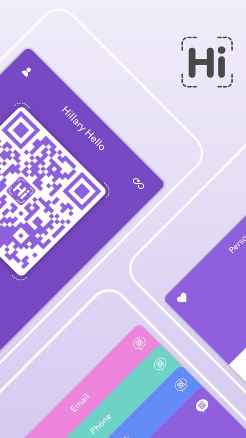 HiHello Contact Exchange - Imagem 1 do software