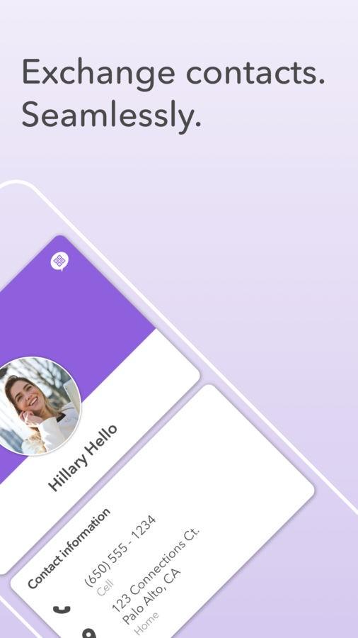 HiHello Contact Exchange - Imagem 2 do software