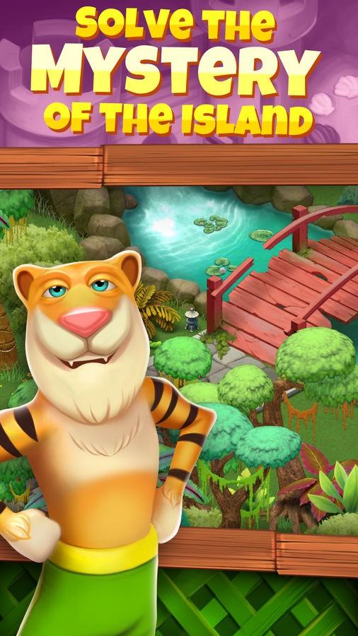 Animal Cove: Match 3 Adventure - Imagem 2 do software