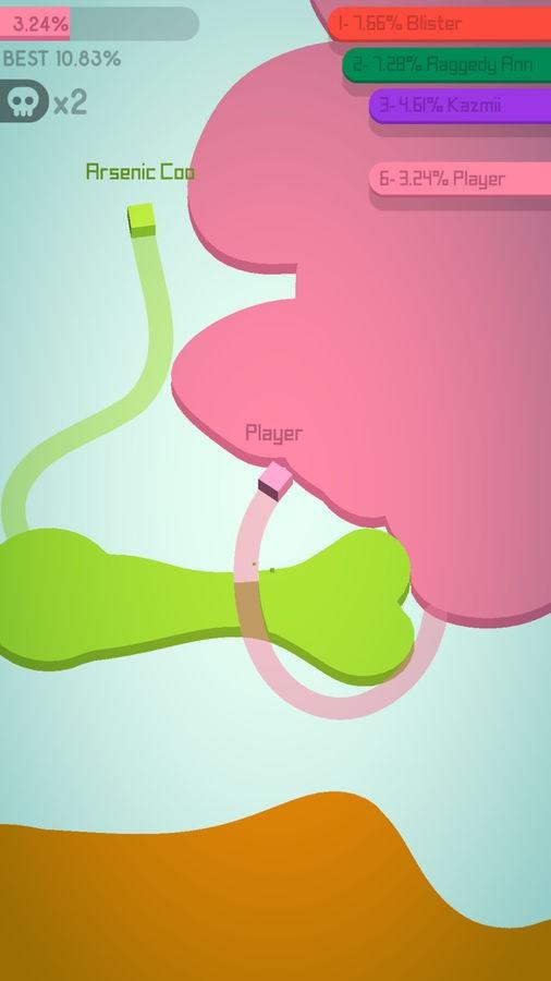 Paper.io 2 - Imagem 2 do software