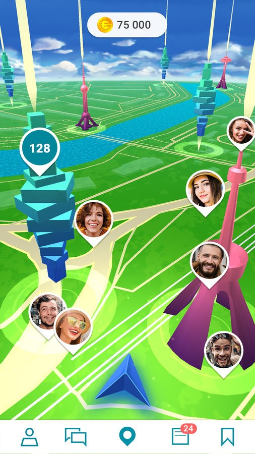 Selfie GO: AR Social Network - Imagem 1 do software