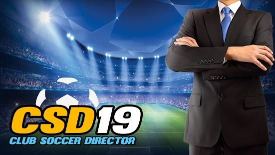 Club Soccer Director 2019 - Imagem 1 do software