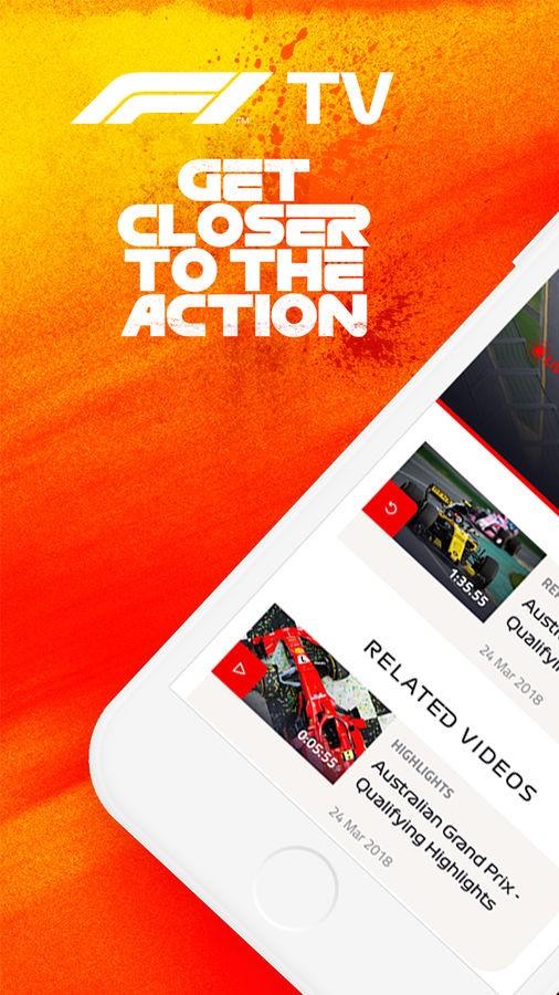 F1 TV - Imagem 1 do software
