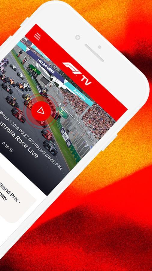 F1 TV - Imagem 2 do software