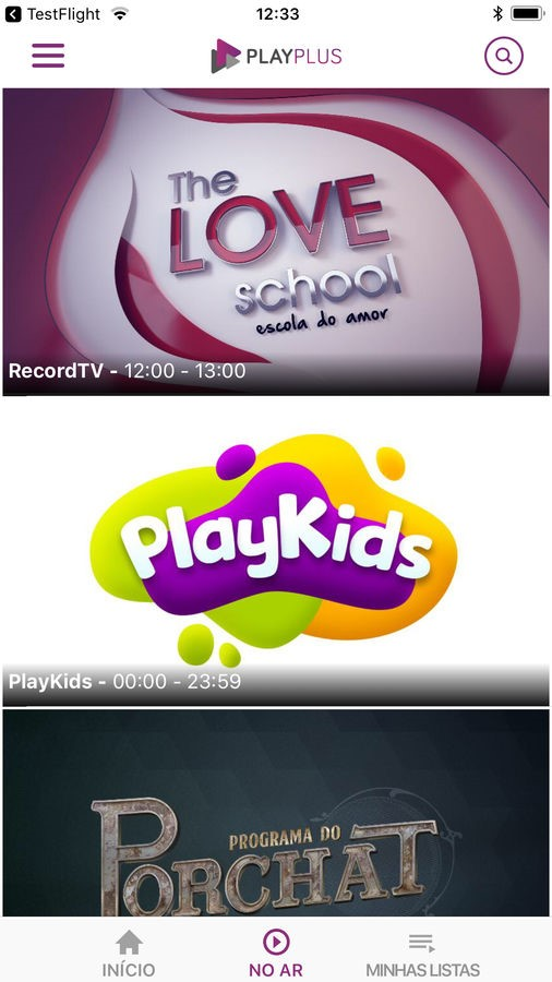 PlayPlus - Imagem 2 do software