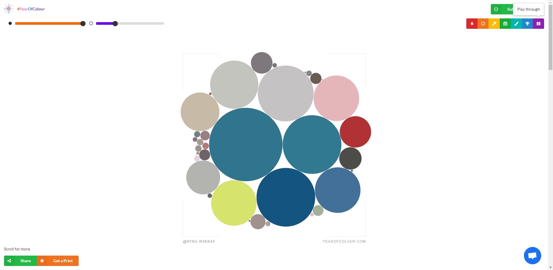 Year of Colour - Imagem 1 do software