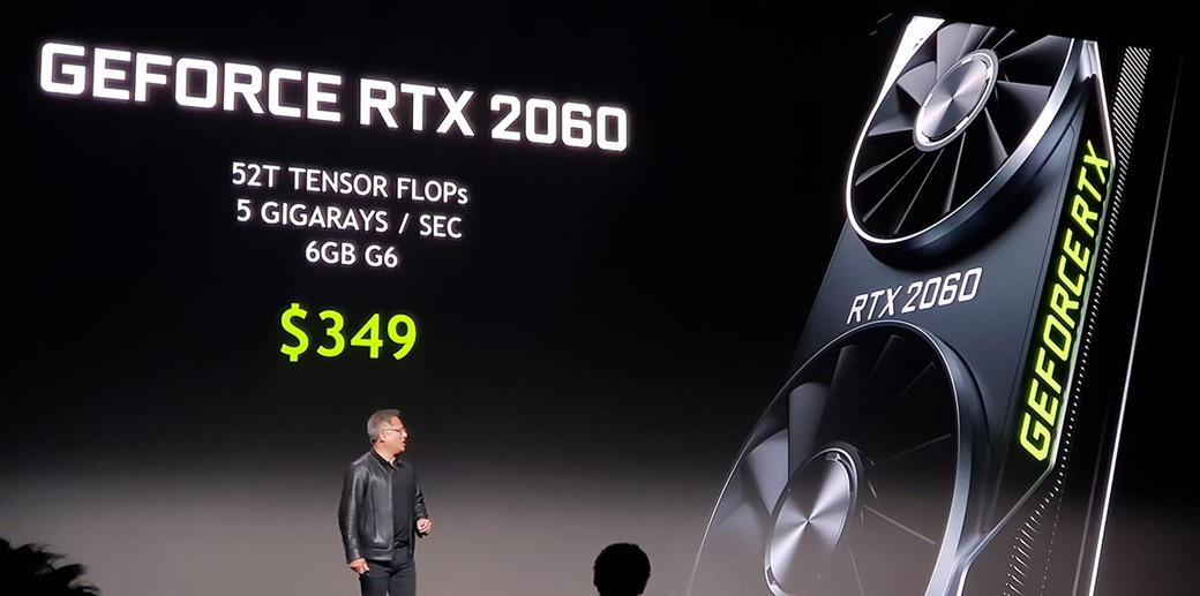 RTX 2060 por 350 dólares