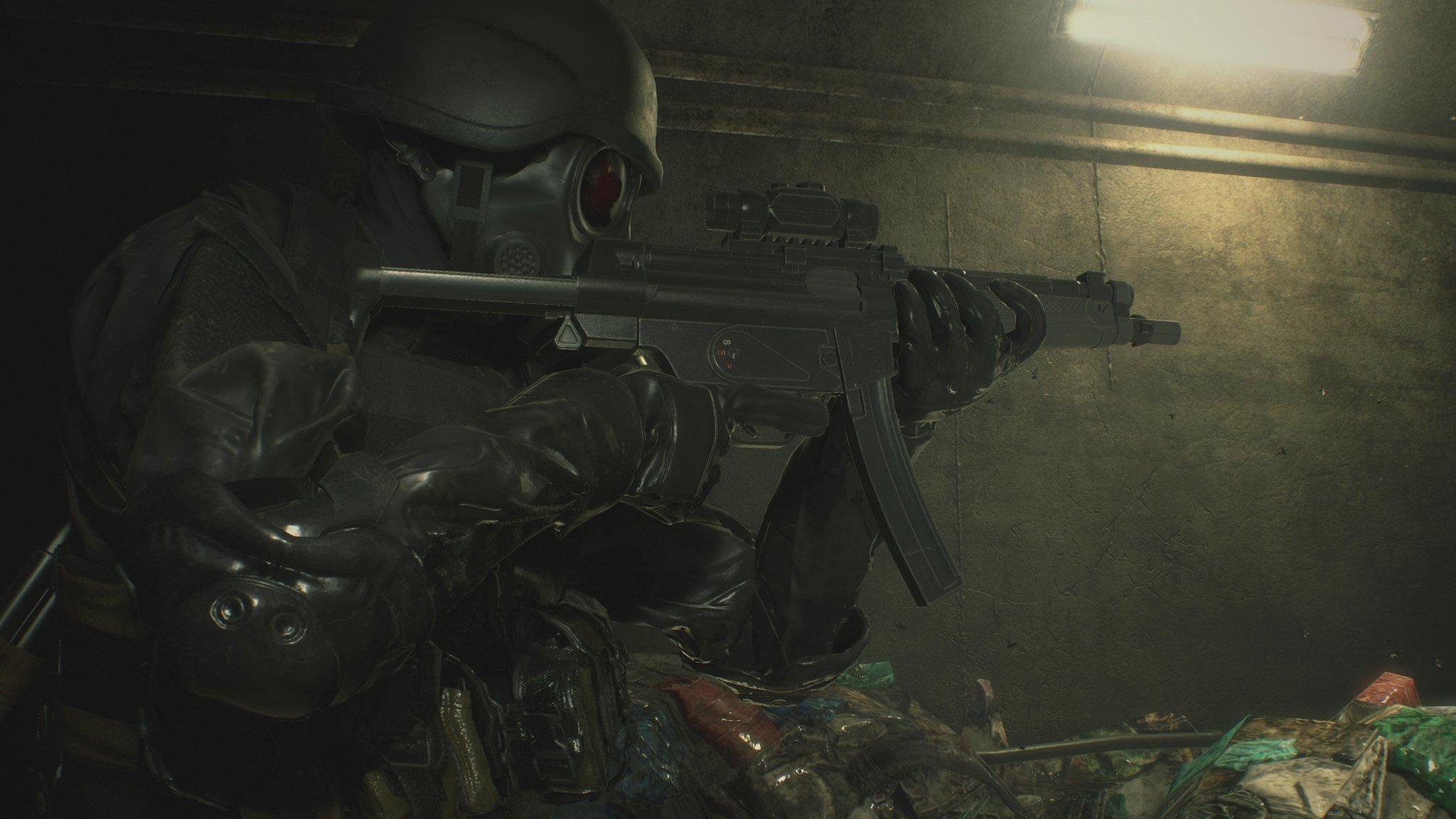 Capcom divulga imagens oficiais de HUNK e Tofu em Resident Evil 2 Remake